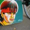 Shah Rukh Khan in Ashoka or Koylaa. At Jamalpur Gate, Ahmedabad.