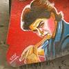 Shah Rukh Khan. Outside Gujarat College, Ahmedabad.