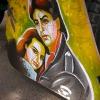 Shah Rukh Khan & Kajol. In film \'Dilwale Dulhaniya Le Jayenge\' (The Bold Shall Win the Bride\'). Taken in Salem, Ahmedabad.