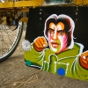 Salman Khan in film \'Tere Naam\' (\'Dedicated to You\').Taken in the slum at Kochrab, Ahmedabad.