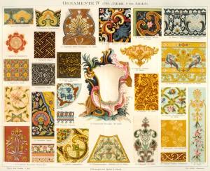 Ornamente IV (17/18. Jahrh. und Asien).