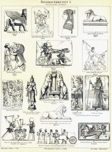 Bildhauerkunst I. Orientalische Bildnerei