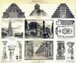 Baukunst I. Baudenkmäler Amerikas - Indische Baukunst